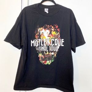 Motley Crue the Final Tour Concert Tshirt XL